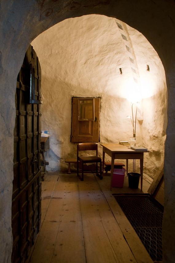 kappelin kellari sisäänkäynti